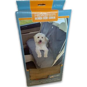 Kurgo Car/SUV Heather 55 Inches Bench Seat Cover For Dogs Cargo In Nutmeg 01599