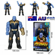 "12"" Thanos Action Figure Marvel Avengers Infinity War Titan Hero Series Toys Box"