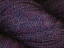 Mirasol ::Sulka Legato #13:: merino alpaca silk yarn Purple Heather