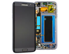 Original Samsung Galaxy S7 Edge G935F LCD Display Touch Bildschirm Glas Schwarz