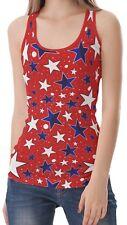 Star Women T-back Sleeveless Tank Top Shirt Blouse b26 acr02487