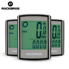 ROCKBROS Bicycle Computer LCD Backlight Odometer Wireless Computer Speedometer