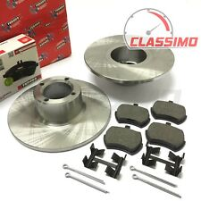 "Ferodo 8.4"" Front Brake Discs & Pads for CLASSIC AUSTIN / ROVER MINI - 1959-2001"