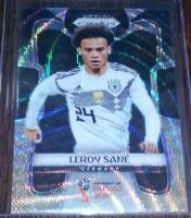 2018 Panini Prizm World Cup Leroy Sane BLACK & GOLD Wave SP #93 Germany