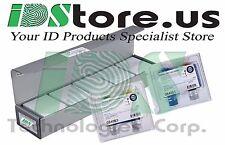 Fargo HDP5000 Bundle Kit, 84061 Color Ribbon,Retransfer Film 84053,500 PVC Cards