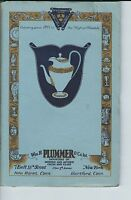 NC-101 - Wm. H. Plummer Fine China and Glass Ware Catalog, Early 1900's RARE