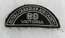 ROYAL CANADIAN AIR CADETS 89 VICTORIA PATCH