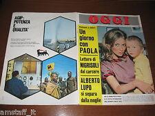 OGGI 1967/8=PAOLA DI LIEGI=GIANNI MORANDI=ALBERTO LUPO=LEE HARVEY OSWALD=