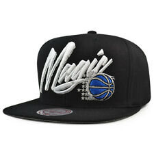Orlando Magic VICE SCRIPT Snapback Mitchell & Ness NBA Adjustable Hat - Black