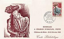 L5 - CARTE MAXIMUM - FRANCE - HOMMAGE A CHARLES D'ORLEANS  - 1965