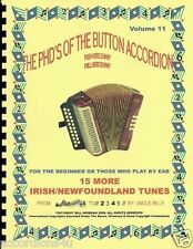 """ACCORDION MUSIC BOOK """"MORE IRISH/NEWFOUNDLAND TUNES""""   PLAY BY NUMBERS BOOK"""