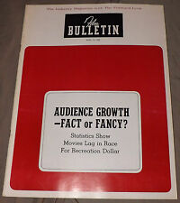 Film Bulletin 4/15/1968 2001: A Space Odyssey The Producers The Private Navy Of
