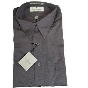 Barrington Premier NEW Grey Long Sleeve Dress Shirt 16 34/35