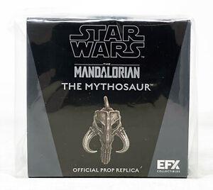eFX Collectible Star Wars Mandalorian Mythosaur Pendant Necklace Replica In Hand