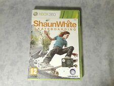 SHAUN WHITE SKATEBOARDING - MICROSOFT XBOX 360 PAL ITALIANO COMPLETO COME NUOVO