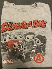 New listing It's Schwarma Time Funko Pop! T-shirt Men's Large From Marvel Avengers