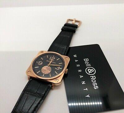 Bell & Ross rose gold watch BRS-70-R Full Set