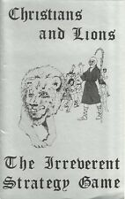 Christians and Lions. - The Irreverent Strategy Game - Omicron Games 1982 *FS