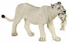 Papo 50203 Lioness With Cub Figure, White