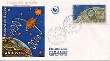 FDC / T.A.A.F. TERRES AUSTRALES TIMBRE PA N° 6 TELECOMMUNICATION SPACIALE 1962