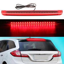 Universal Red LED Car High Mount Level Third 3RD Brake Stop Rear Tail Light 12V
