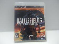 Battlefield 3 Premium Edition PS3 Cartucho en Caja Probado