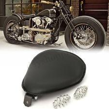 Moto Solo Selle Siège + 2x Ressorts Support Pour Harley Sportster Bobber Chopper