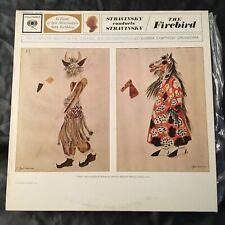 Stravinsky Conducts Stravinsky CSO The FIREBIRD 1962 Lp Record COLUMBIA 6 Eye