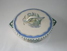 More details for original gray's pottery  art deco tureen & cover - kingfisher decorated, 8569?