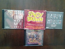 The Savoy Brown Collection 3 CD Boxset ULTRA RARE Make Me Sweat Blues Rock LikNw