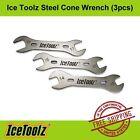 IceToolz Steel Hub Cone Wrench Set 37x3  13/14/15/16/17/18mm - Bike Hand Tool