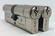 "95mm /""GOLD/"" YALE PLATINUM 3 STAR EURO PROFILE CYLINDER 40//10//45"