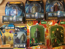More details for doctor who figures - bundle of 7 - mint in packaging - now reduced in price!