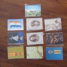 South Africa Unused Postcard set 1984 Minerals 1985 Bridge Flowers 86 Blood