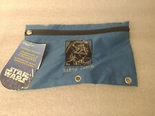 STAR WARS DARTH VADER YODA PENCIL POUCHES NEW WITH TAGS 1996