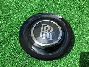 Factory Rolls Royce Center Cap  Bezel Black Genuine OEM Ghost Dawn Wraith Wheel