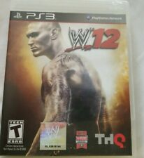 WWE '12 Sony PlayStation 3 2011 W12 PS3 Complete