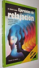 EJERCICIOS DE RELAJACION - DIETRICH LANGEN