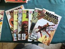 MARVEL ZOMBIES SERIES 1 AND 2 VARIANTS ALSO RETURN - ALL NM MINT CGC SPIDERMAN