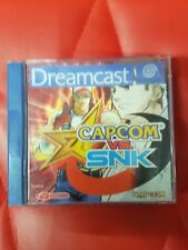Capcom vs SNK  -RARE Sega Dreamcast Game - complete - UK PAL FREE UK POST