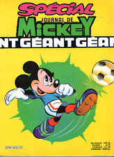 SPECIAL JOURNAL DE MICKEY GEANT n°1563 bis ¤ 1982 DISNEY