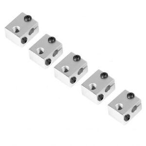 V6 Aluminium Heater Block for 3D Printer E3D Print Head HotEnd Heating Block lot