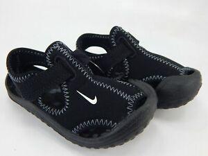Nike Sunray Protect (TD) Boy's Size 6 C (M) Toddler Sandal Black 903632-001