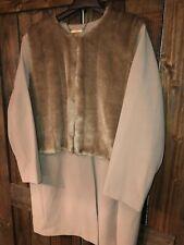 Iman Of New York Womens Wool Winter Coat Faux Fur 3X