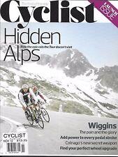 Radfahrer Magazin versteckte Alpen Bradley Wiggins Pedal Schlaganfall Power Wheel Upgrade
