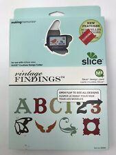 New Making Memories Slice Design Card Vintage Findings 33066 Scrapbooking Cards