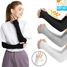 1-5 Pair Cooling Arm Sleeves Cover UV Sun Protection Outdoor Sports Men Women US