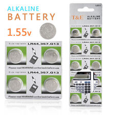 T&E 10pcs 1.5V GP LR44 357 AG13 A76 SR66 Button Cell Coin Battery Batteries NEW