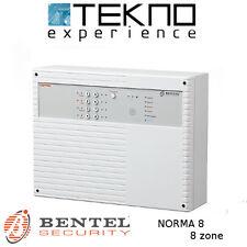 Centrale allarme 8 zone filari Bentel Security NORMA 8