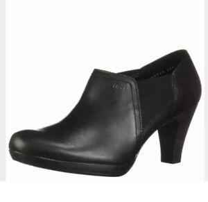 Flexi Mitzy Women's Genuine Cow Leather Heeled Shoe Black UK Size 6 EU 38.5